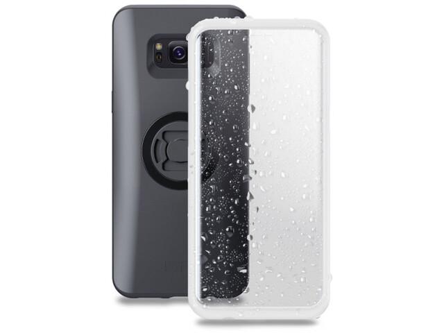 SP Connect Weather Cover S9+/S8+ black/transparent